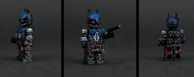 Batman Arkham Knight Painted Custom Minifigure