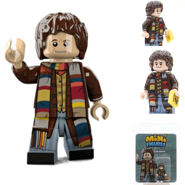 Doctor Who Tom Baker Custom Minifigure