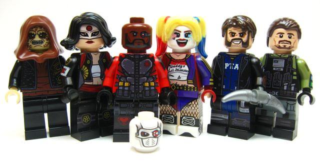 The Suicide Squad Custom Minifigures