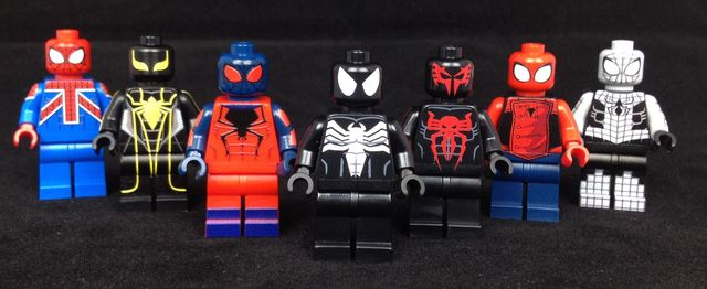 LeYiLeBrick Spider-Man Custom Minifigures