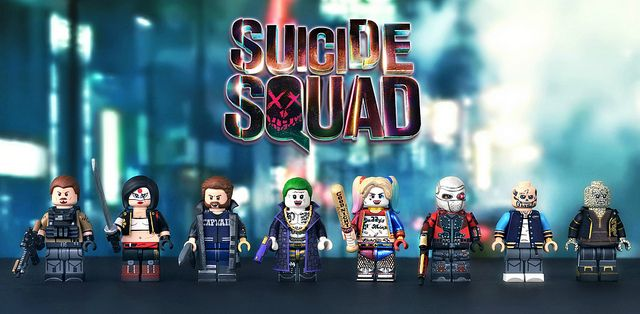 painted-suicide-squad-custom-minifigures