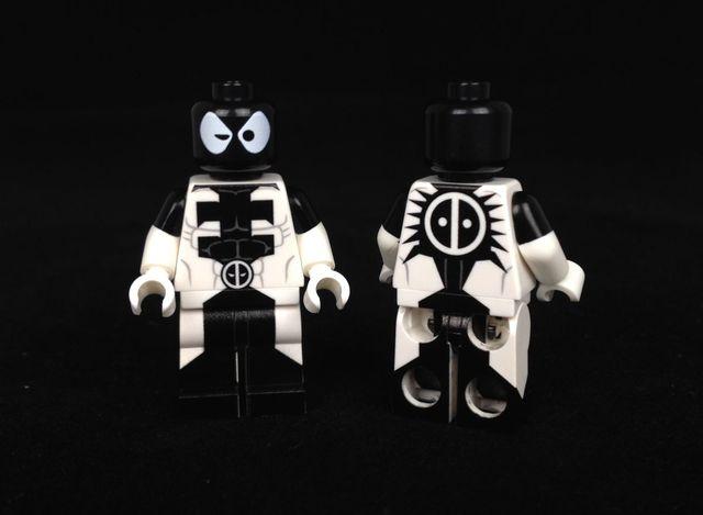 Venompool LeYiLeBrick Custom Minifigure