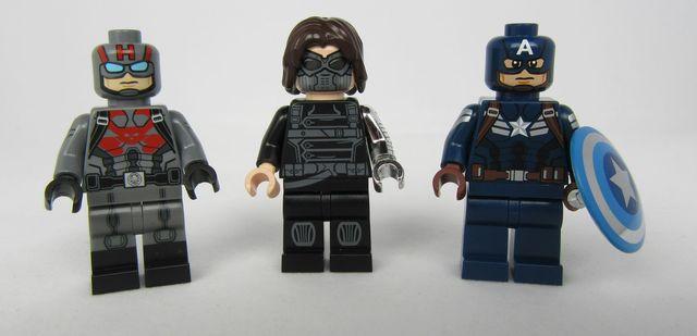 Sleeper Agent, Cold War Assassin & American Super Soldier Custom Minifigures