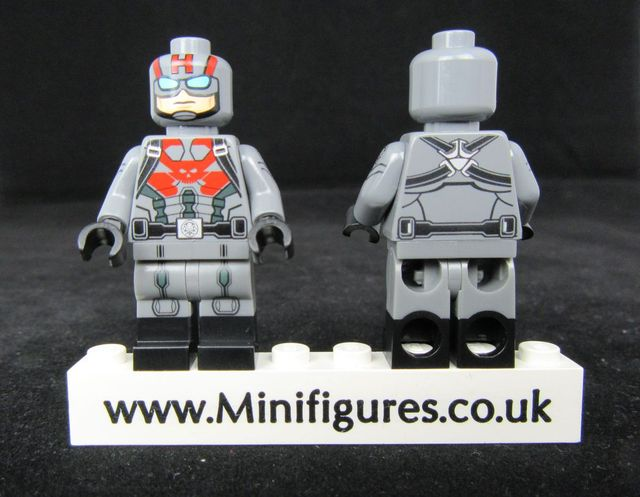 Sleeper Agent Custom Minifigure
