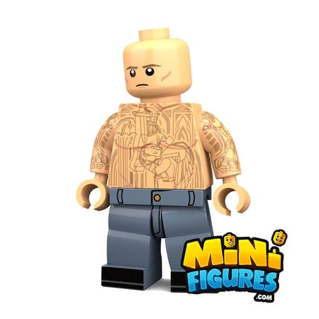 The Prison Architect Custom Minifigure