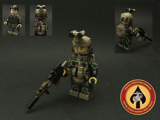 US MARSOC Marine Custom Minifigure