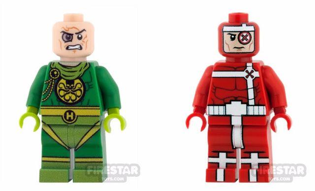 FirestarToys Evil Villains Custom Minifigures