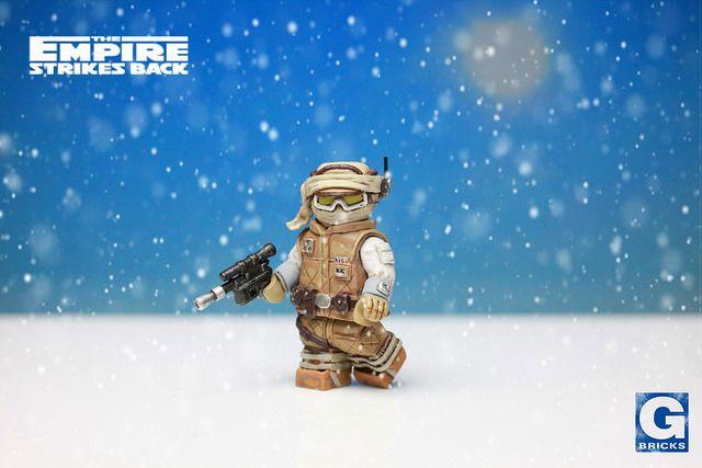 Hoth Luke Custom Minifigure