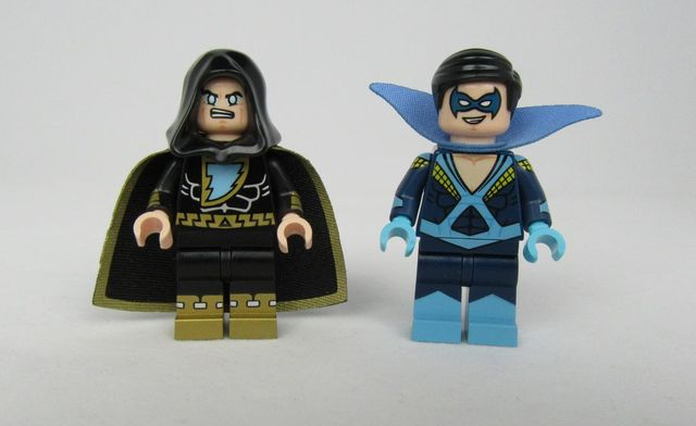 BrothersFigure Dark Wizard and Party Bird Custom Minifigures