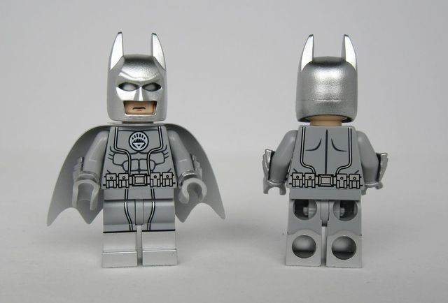 zebra batman Lego Custom PAD UV PRINTED Minifigure zebra batman