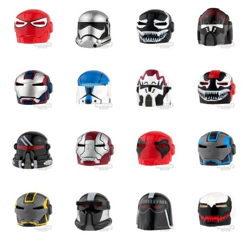 Clone Army Customs Helmets