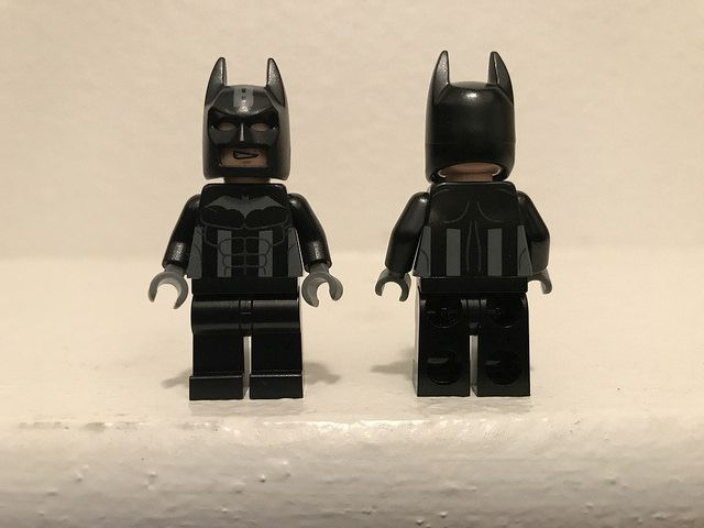 CUSTOM LEGO Black Captain Bat