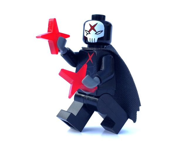 Crimson Cross Custom Minifigure