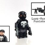 Lost Verse Punisher Custom Minifigure