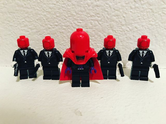 Red Hood Gang Custom Minifigures
