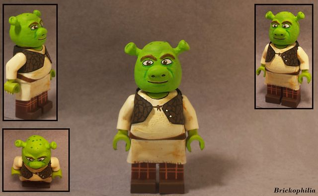 Shrek Custom Minifigure