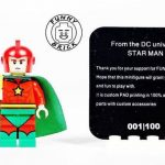 Starman Funny Brick Custom Minifigure