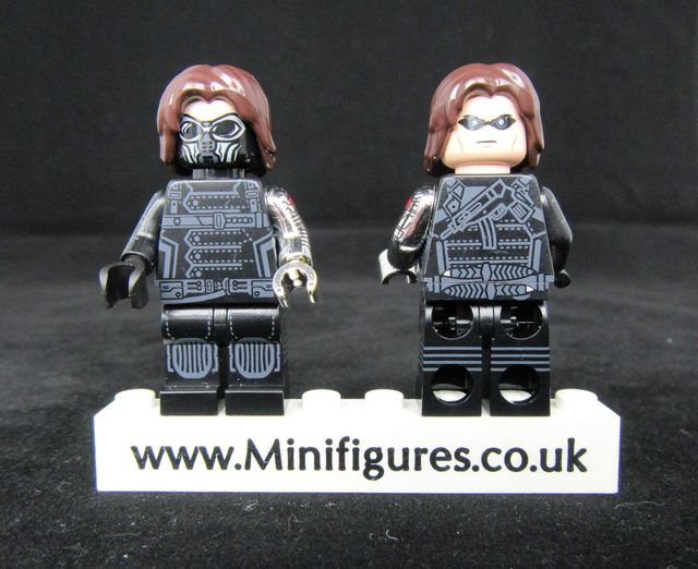 Winter Soldier Custom Minifigure