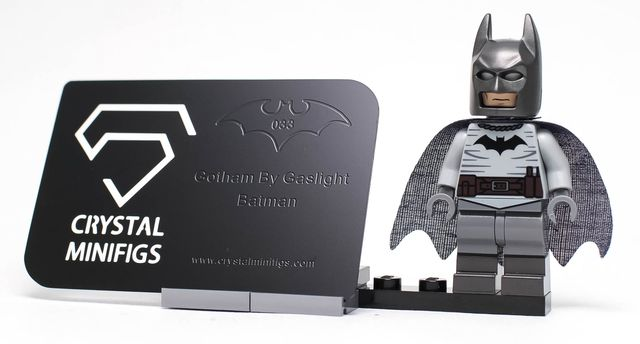 Crystal Minifigs Gaslight Bat Custom Minifigure