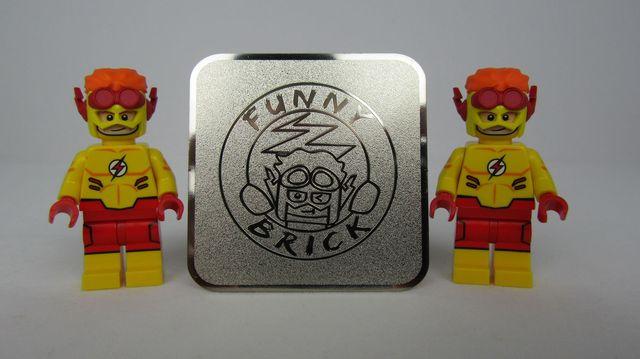 Kid Flash Custom Minifigure