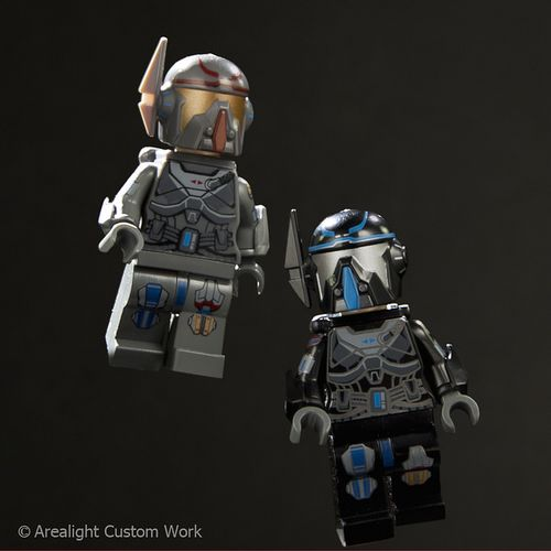 Arealight Mercenary VIZ Custom Minifigure