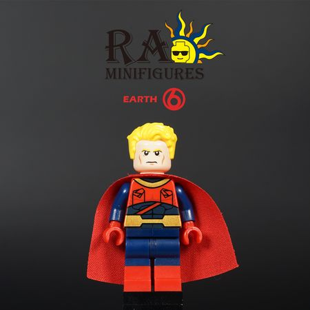 Earth 6 Superman Custom Minifigure