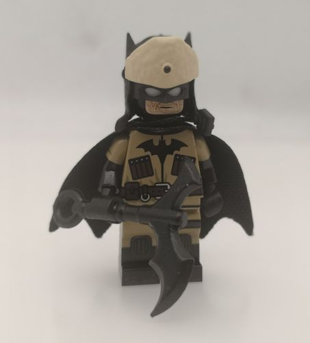 Red Son Batman Custom Minifigure