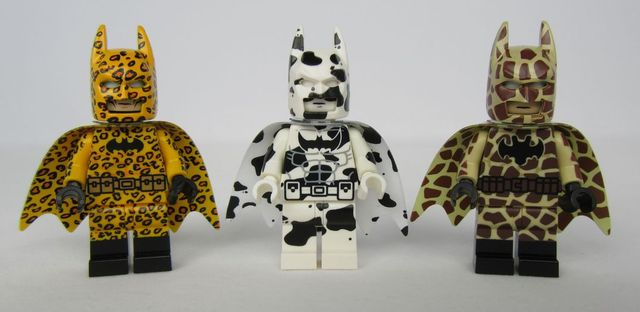 Dragon Brick Batman Custom Minifigures