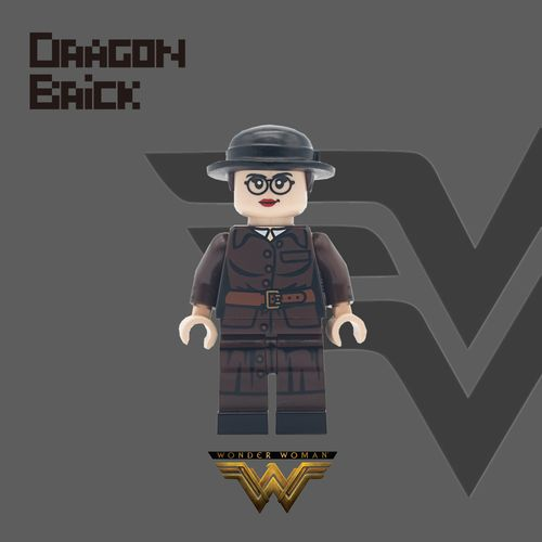 Dragon Brick Wonder Woman Custom Minifigure