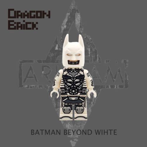 Dragon Brick Batman Beyond White Custom Minifigure