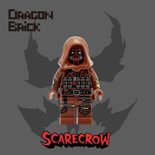 Dragon Brick Scarecrow Custom Minifigure
