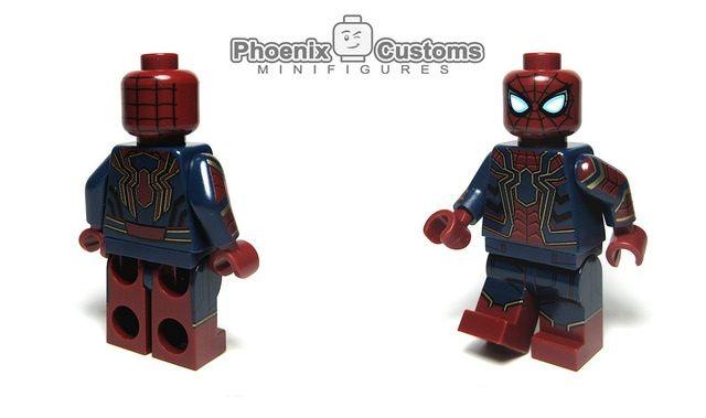 Phoenix Customs Infinite Arachnid Hero Custom Minifigure