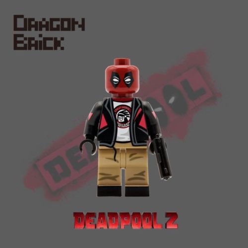 Deadpool 2 Dragon Brick Custom Minifigure