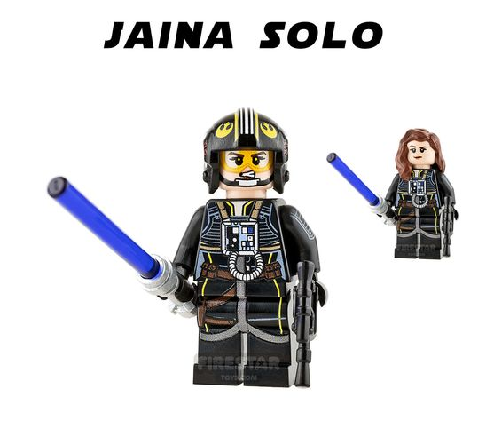 Jaina Solo Custom Minifigure