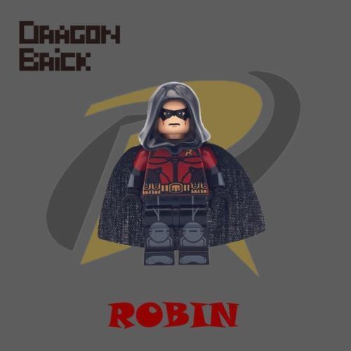 Dragon Brick Robin Custom Minifigure