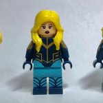 Diamond Custom Bricks Black Canary Custom Minifigure