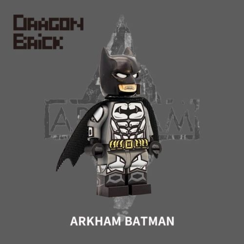 Dragon Brick Arkham Batman 2 Custom Minifigure