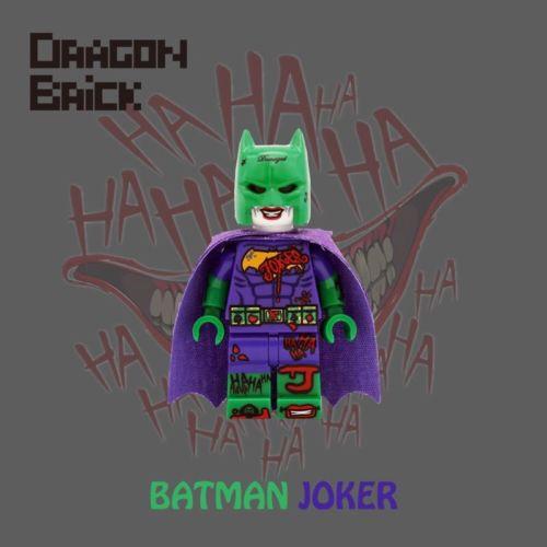 Dragon Brick Batman Joker Custom Minifigure