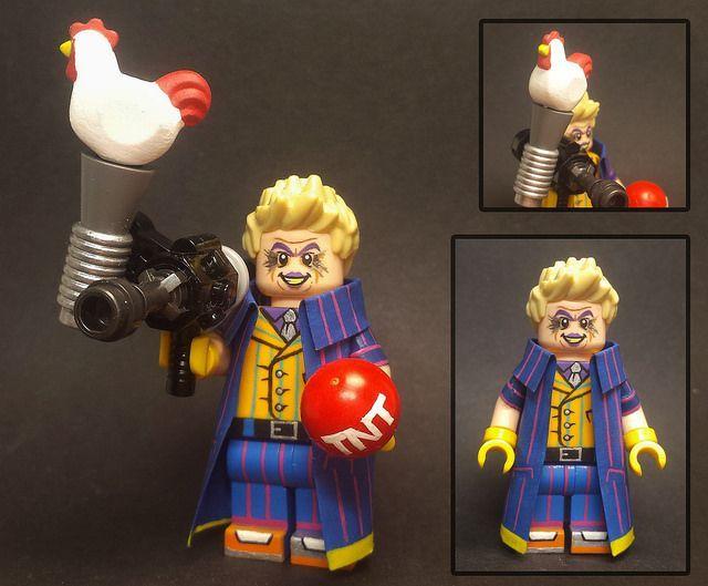 Trickster Custom Flash Villain