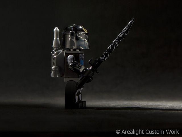 Arealight Black Charged Darkblade