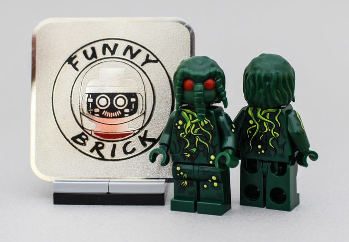 Man Thing Funny Brick Custom Minifigure
