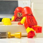 Funny Brick Classic Iron Man Custom Minifigure