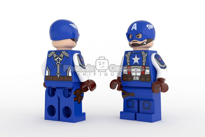 Phoenix Customs Original Super Soldier Custom Minifigure