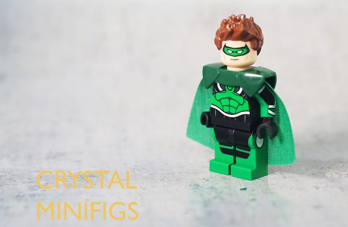 Crystal Parallax Custom Minifigure