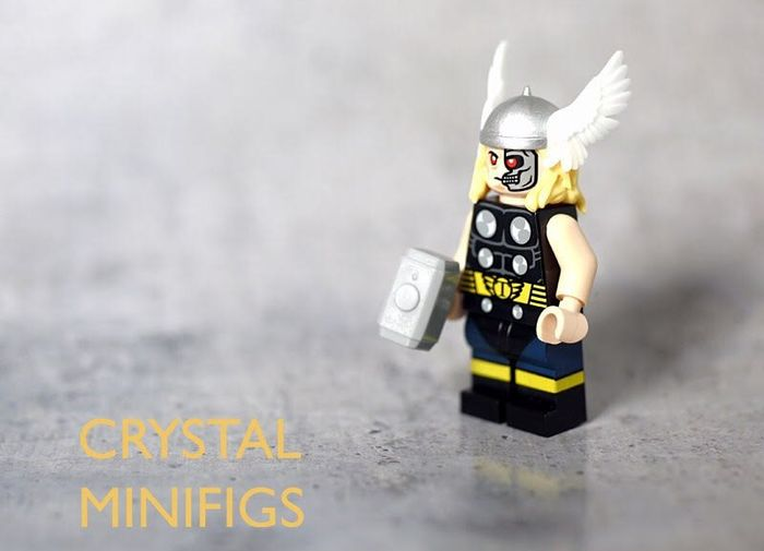 Crystal Thor Custom Minifigure