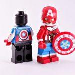 BrothersFigure Santa Patriot Custom Minifigure