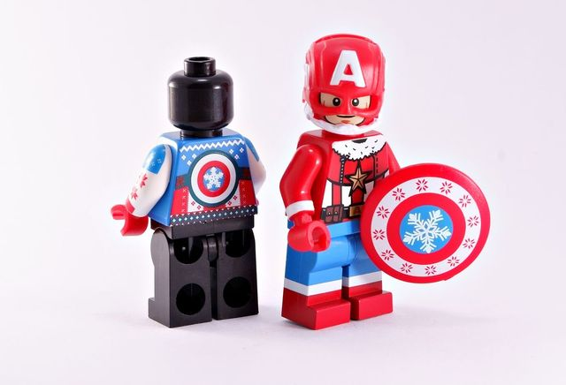 BrothersFigure Santa Patriot Custom Minifigure