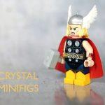 Crystal Thor Odinson Custom Minifigure