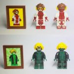Diamond CustomBricks Integrity & Devious Custom Minifigures