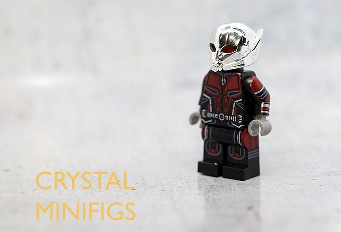 Crystal Minifigs Ant V2 Custom Minifigure